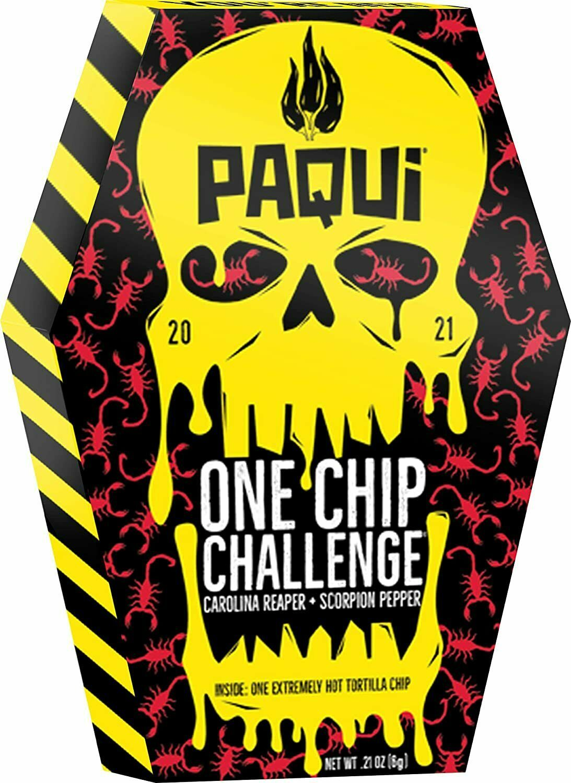 PAQUI 2021 ONE CHIP CHALLENGE THE CAROLINA REAPER + SCORPION PEPPER - NEW!!!