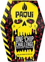 PAQUI 2021 ONE CHIP CHALLENGE THE CAROLINA REAPER + SCORPION PEPPER - NEW!!! image 1