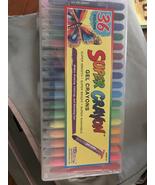 36 count super crayon gel crayons age 3+ - $20.00