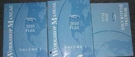 2010 ford flex workshop service repair manual set with cable diagram etm - $128.27