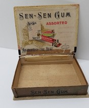 VINTAGE SEN-SEN Chewing Gum 5 Cent General Store Box Early 1900s - $28.66