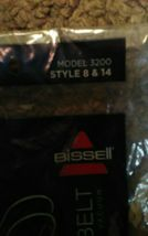 Two Genuine Bissell Lift-Off Belt 2 - Pk No. 3200 Style 8 and 14 image 4