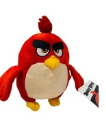 """New Angry Birds Movie Toy Factory Rovio Red Plush Doll Figure 7"""" Stuffed... - $12.99"""