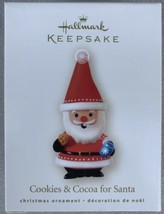 Hallmark 2008 Christmas Ornament Cookies & Cocoa for Santa - New - $2.99