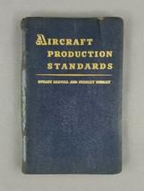 Aircraft Production Standards - Stuart Leavell Vintage Aviation Leathere... - $34.60
