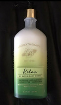 Bath & Body Works Aromatherapy Relax Sandalwood Eucalyptus Mandarin Lotion 6.5 - $12.75