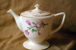 Homer Laughlin Dogwood 5 Cup Tea Pot With Lid H52N6 - $22.04