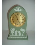 Wedgwood Green Jasperware Clock - Works - $179.39