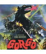 GORGO Genuine Vintage Monster Sci-Fi VIVID Movie Poster NEAR MINT 1961 M... - $251.10