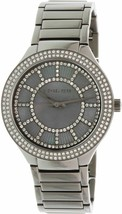 Michael Kors MK3410 Kerry Grey Crystal-set Dial Gunmetal-plated Ladies Watch - $60.44