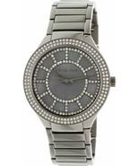 Michael Kors MK3410 Kerry Grey Crystal-set Dial Gunmetal-plated Ladies W... - $80.01