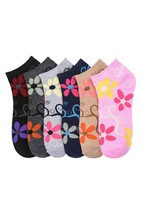 12-Pack: Mamia Women's Low Cut Ankle Socks - 70023_SUNNY - $9.89