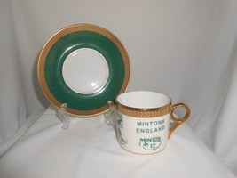 Minton Coffee Cup & Saucer Backstamp Collection 2004 (B) - $23.75