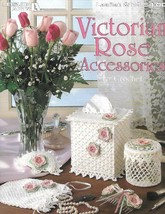 Victorian Rose Accessories to Crochet with Thread Leisure Arts 2113 1991 - $5.87