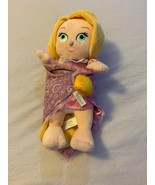 Disney Parks Disney Babies Tangled Rapunzel Plush Baby Doll in Blanket 1... - $18.00