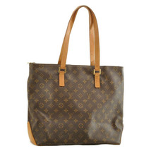 LOUIS VUITTON Monogram Cabas Mezzo Tote Bag M51151 LV Auth ar1649 - $520.00