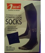 Acel Performance & Recovery 20-30 mmHg Firm Graduated Compression Socks ... - $12.99