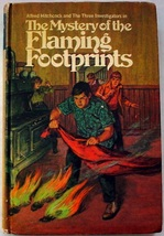 Three Investigators Mystery of the Flaming Footprints 1st Edition 1st Pr... - $18.00