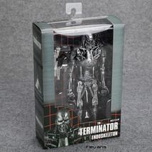 "The Terminator Endoskeleton PVC Action Figure Collectible Model Toy 7"" 18cm - $44.99"