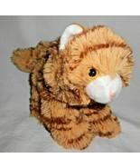"Fiesta Tabby Cat Kitten Floppy Plush Stuffed Animal Orange Brown 9"" Kitten - $24.71"