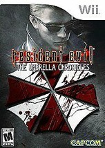 Resident Evil: The Umbrella Chronicles (Nintendo Wii, 2007) Complete w/M... - $7.91