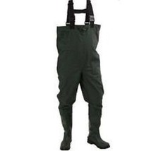 Compass 360 Poly Rubber  Chest Waders, Forest Green - $74.79