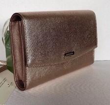 New Kate Spade Winni Laurel way wallet / crossbody Leather bag Rose Gold - $82.11