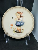 """M.J. Hummel Vintage Handpainted Collectors Plate """"Daisies Don't Tell"""" - $49.48"""