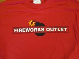 Fireworks Outlet  T Shirt Size M - $2.99