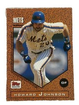 Howard Johnson 1992 Topps Magazine #TM80 New York Mets MLB Baseball Card - $1.39