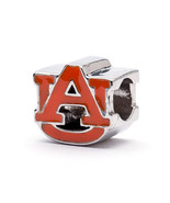 Orange AU Logo Charm Bead, Auburn Tigers - $34.99