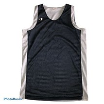 Champion Reversible Basketball Mesh Blue White Pinnie Jersey Size Large ... - $14.50