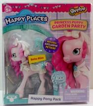 Shopkins Happy Places Bella Bliss Lil' Shoppie Pack Princess Puppy Garde... - $237,64 MXN