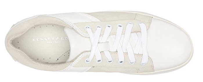 Kenneth Cole New York Men's 'Swag City' Sneaker, White, Size 10 Med