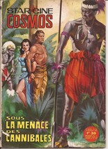 French Star Cine Cosmos #82 Cannibal Attack Movie Photo Novel Black & White - $29.95