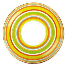 "Intex Tube Spiral Tube 36"" Green, Orange & Yellow Brand New"