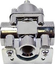 A-Team Performance Fuel Pump Fuel Pressure Regulator 4.5-9 PSI Gasoline Chrome P
