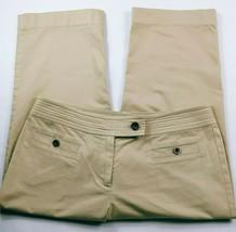 Talbots Women's Petites Capri Pants Size 6P Solid Tan Stretch - $20.00