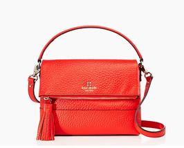 87e0b824faa4 Kate Spade Southport Avenue Mini Carmen Crossbody Bag Handbag Purse  Gazpacho Red -  189.00