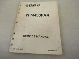 Yamaha YFM450FAR Service Manual P/N LIT-11616-16-01 - $26.90