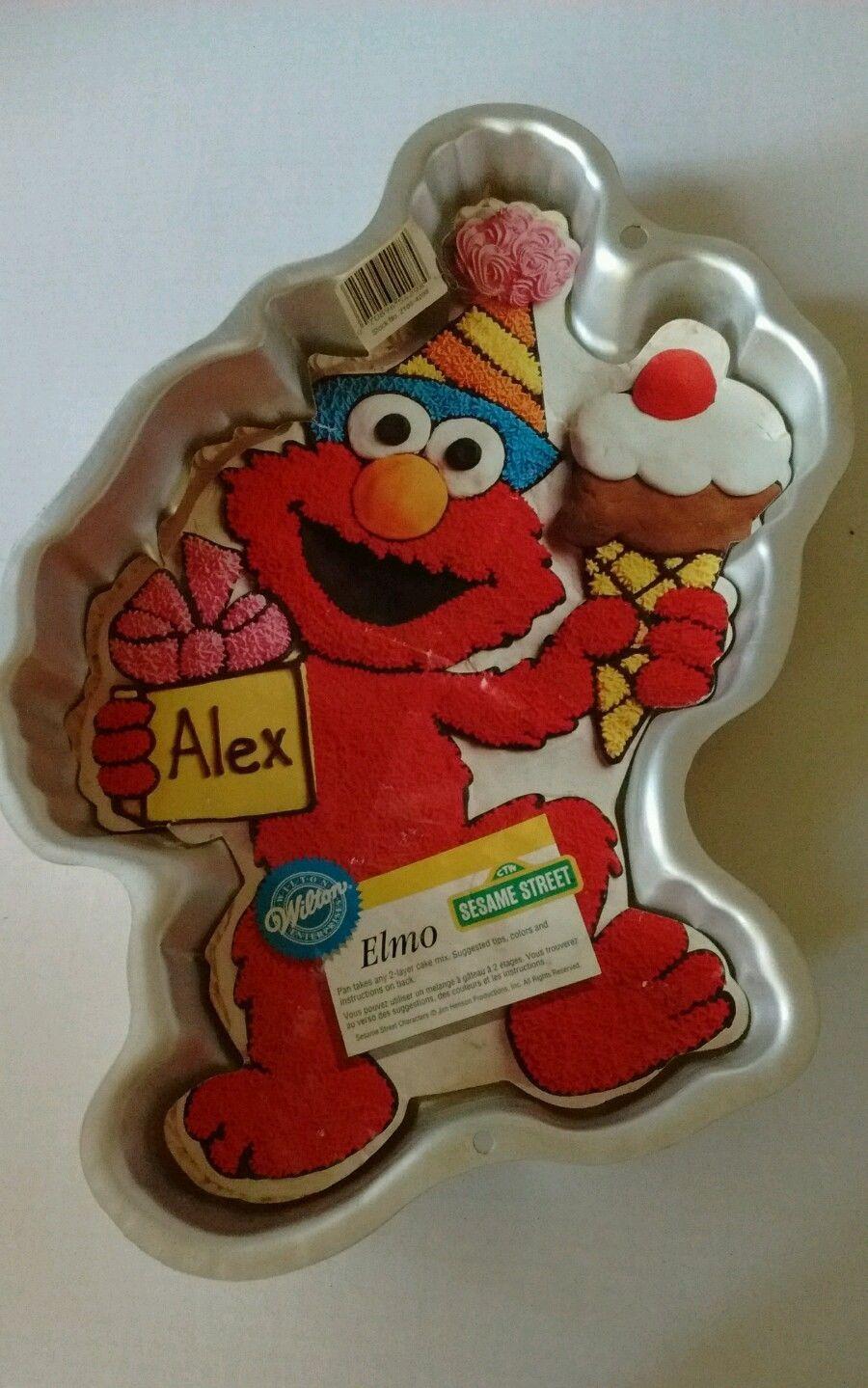Wilton Sesame Street Elmo Body Cake Pan And 50 Similar Items