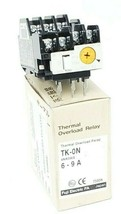 NEW FUJI ELECTRIC TK-0N 4NK0AQ 6-9A THERMAL OVERLOAD RELAY TK-ON 4NKOAQ