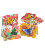 Butterfly Die-Cut Note Cards, Set of 12 - $9.79