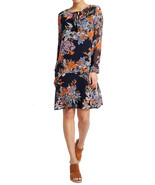 MARKS & SPENCER PER UNA Floral Print Long Sleeve Dress BNWT - $41.47