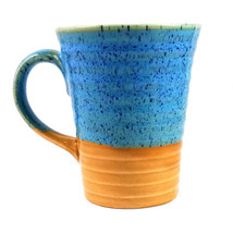 Big Ceramic Coffee Mug HandCrafted Ceramic Mug Big Cup Using Chamotte Cl... - $28.99