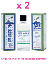 Axe Brand Universal Medicated Oil 56ML Aches Cold Headache Muscular Pain x 2 - $18.50