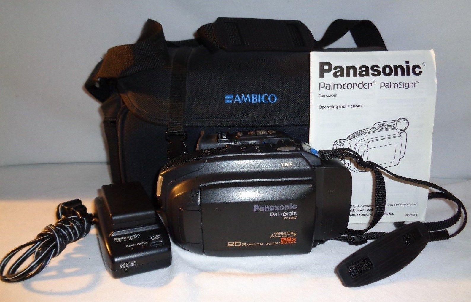 Panasonic Vhs Camcorder Video Camera Palm And 50 Similar Items