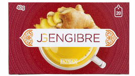 Ginger 20 Individual Bags Tea Weight Loss Indigestion Cholesterol Spices  - $11.87