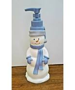 Snowman Christmas Holiday Soap/Lotion Dispenser Resin New with  Defects ... - $20.78