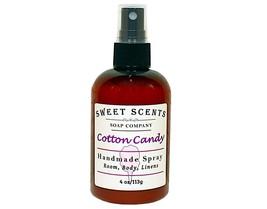 Cotton Candy Body Spray - Handmade Spray / Body Spray / Room Spray / Body Mist / - $8.49